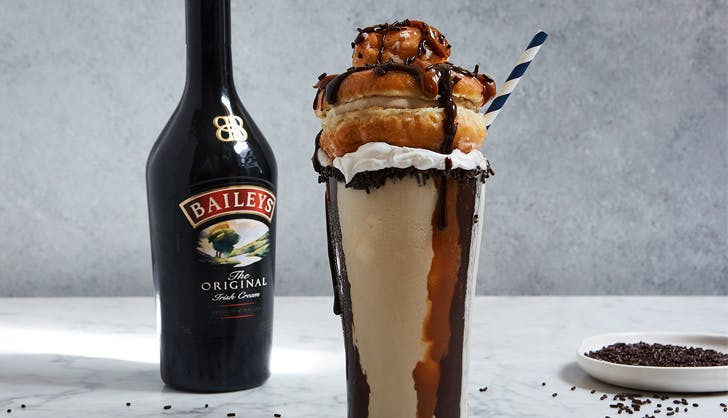 baileys milkshake integration