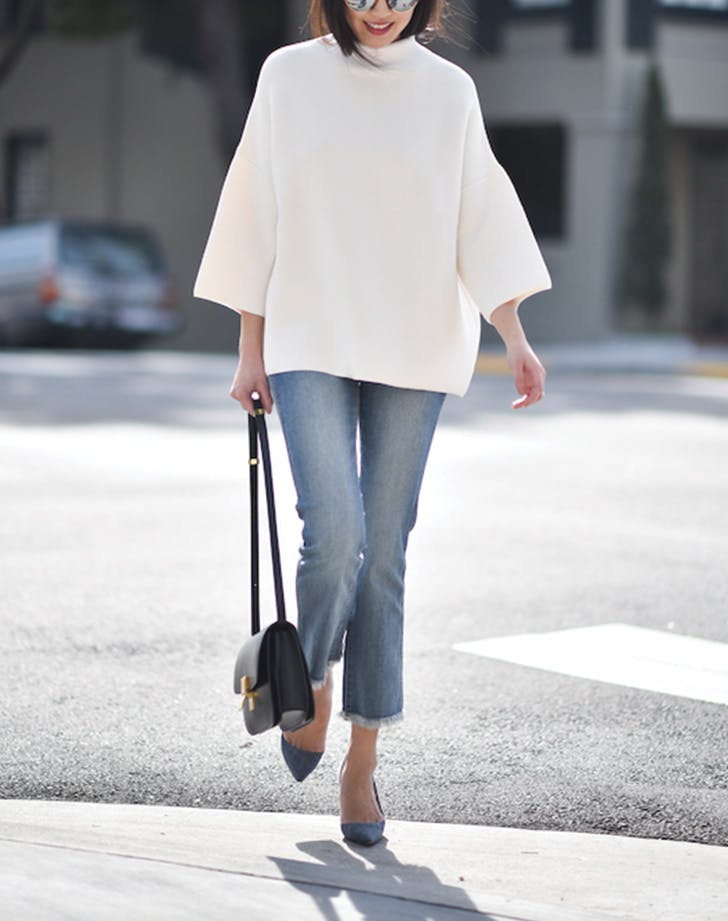 bell sleeves jeans