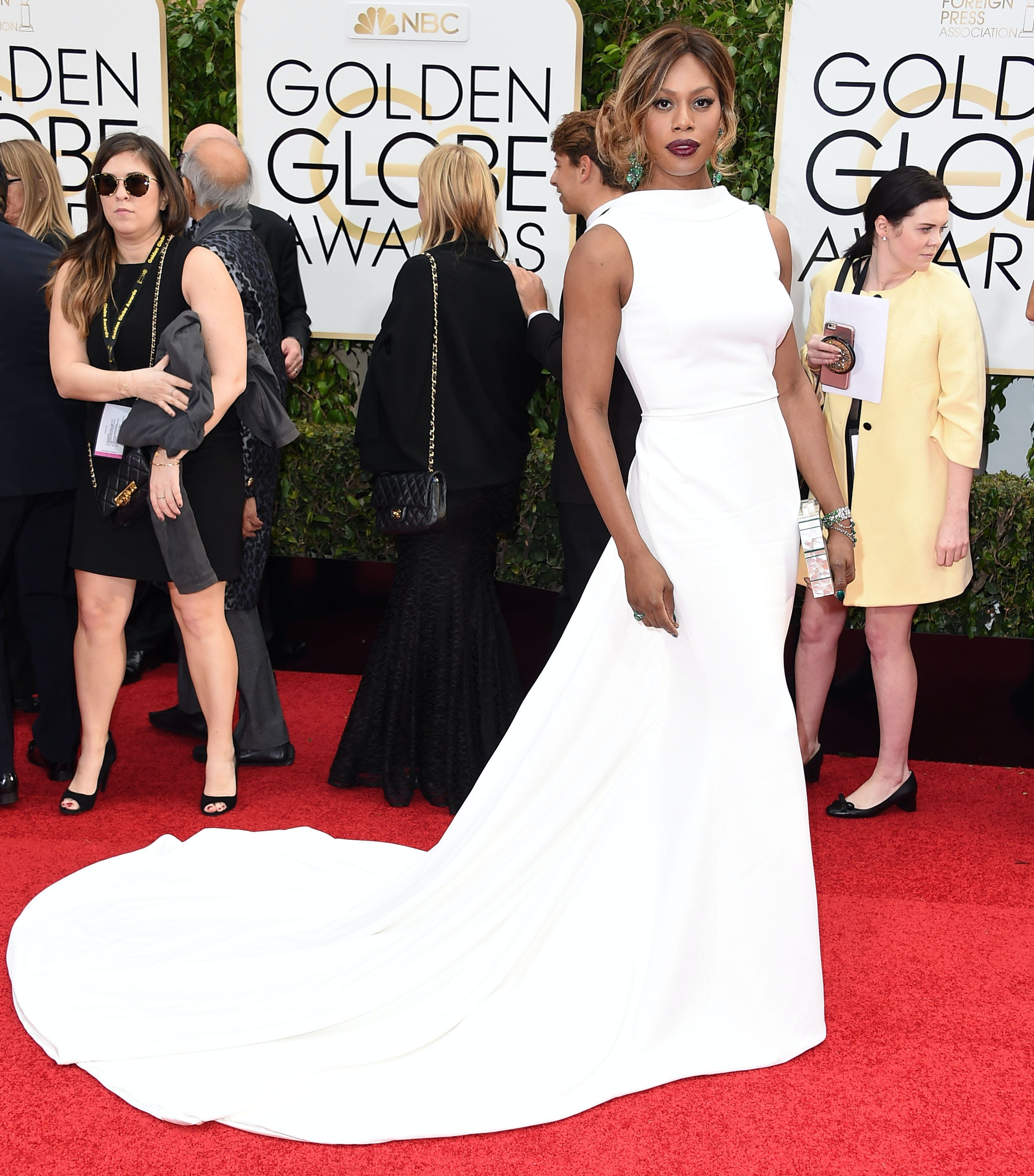 best dressed celebs laverne