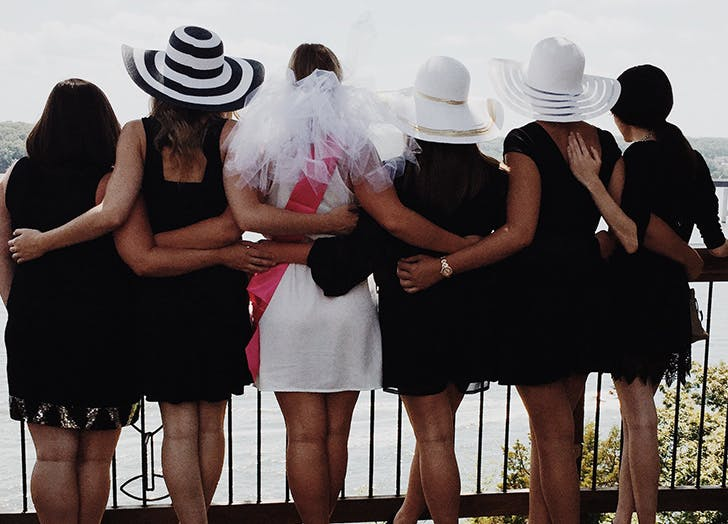 bridesmaid social media bachelorette