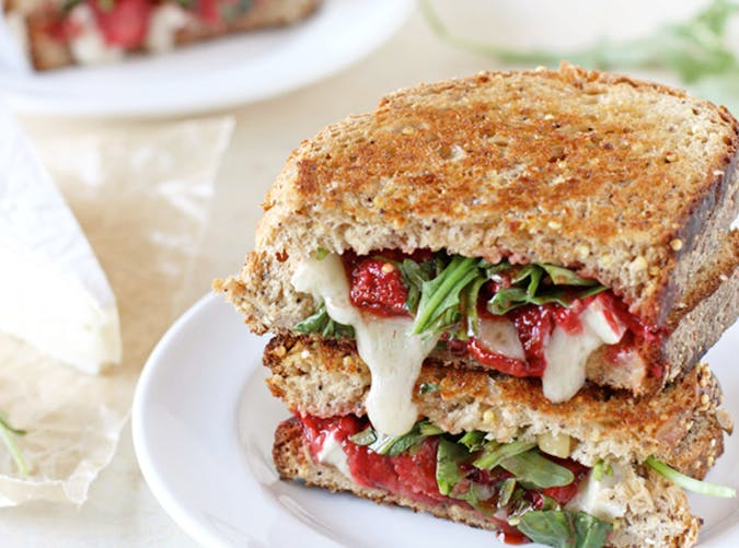 brie grilled cheese recipe