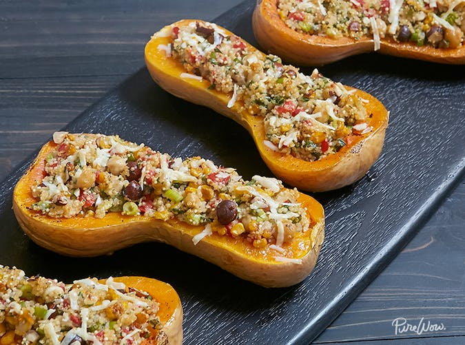 butternut squash boat recipe