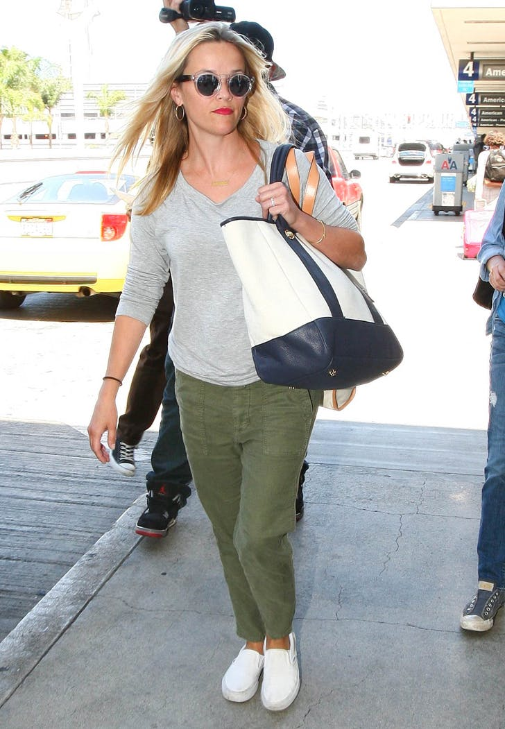 celeb airport style reese