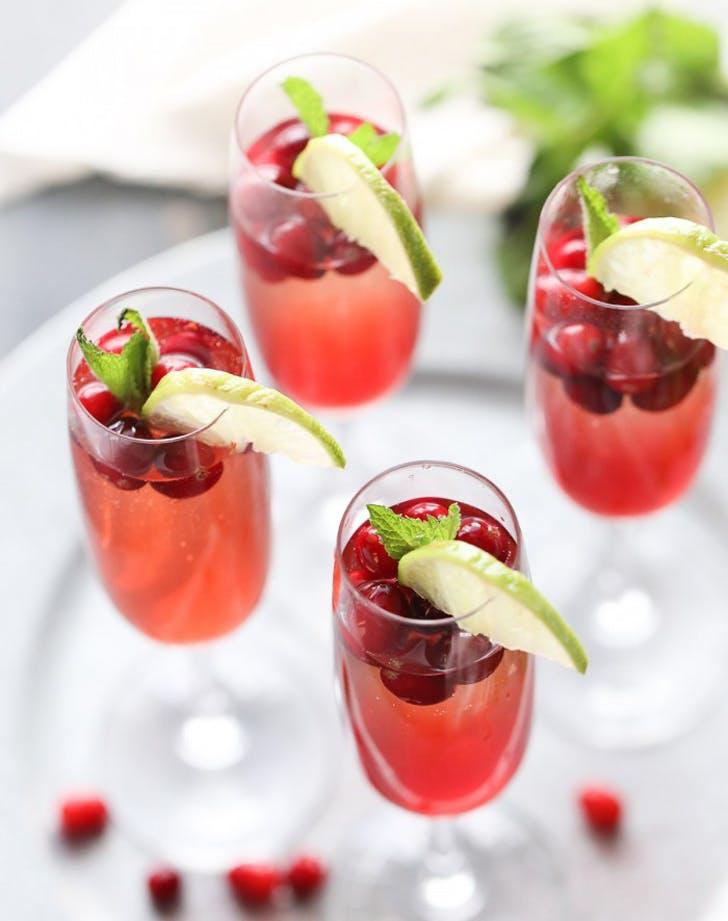 cape cod champagne cocktail