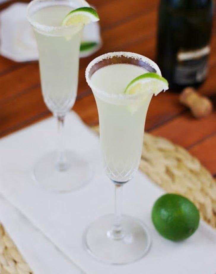 champagne cocktails margarita