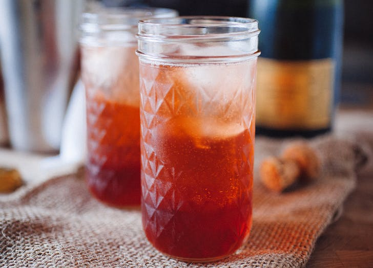 champagne cocktails negroni