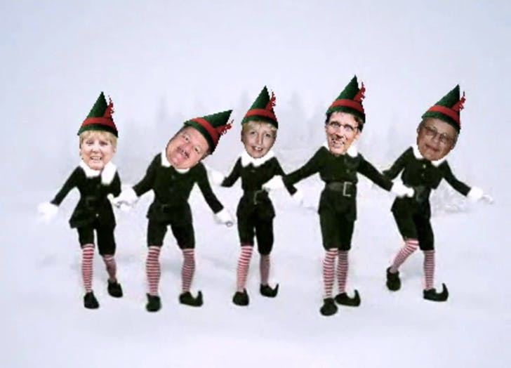 christmas social media elf yourself