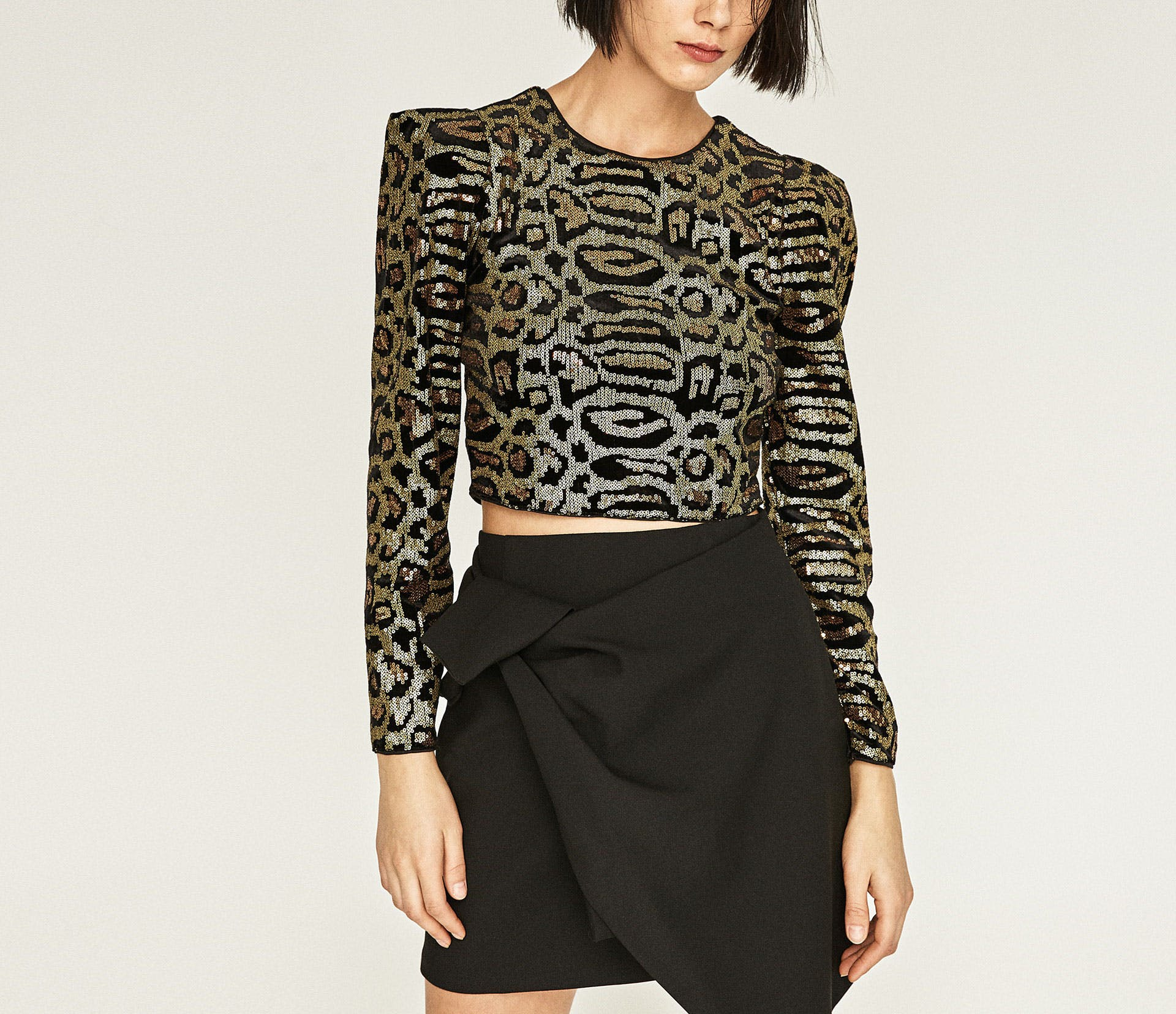 dallas what to buy at zara 6 sequin top