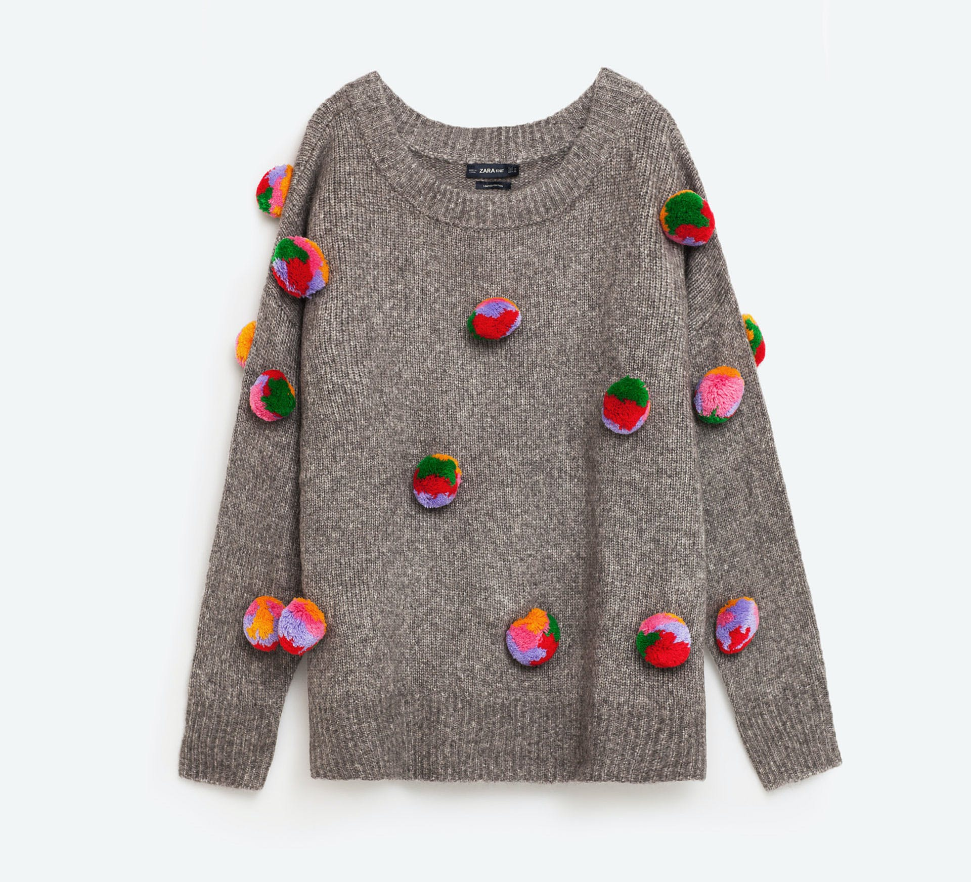 dallas what to buy from zara 11 pom pom sweater