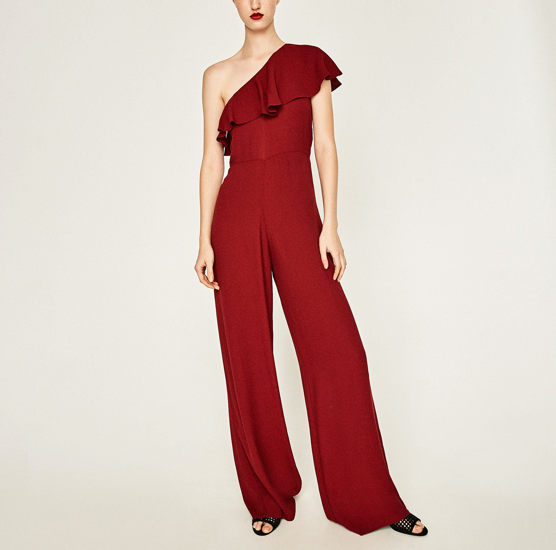 dallas what to buy from zara 4 ruffle jumpsuit