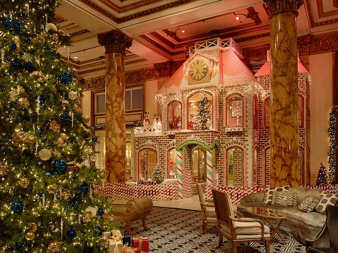 fairmont gingerbread house san francisco holiday guide 2016