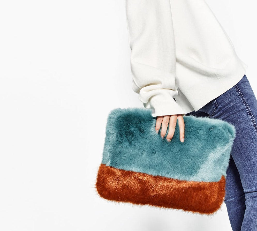 faux fur bag winter accessories