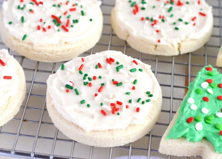 gluten Free holiday desserts sugar cookies