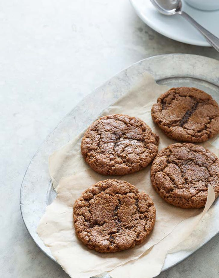 gluten free holiday desserts molasses cookies