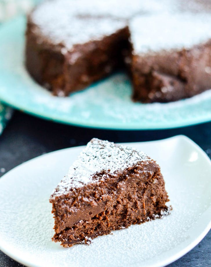 gluten free holiday desserts truffle cake