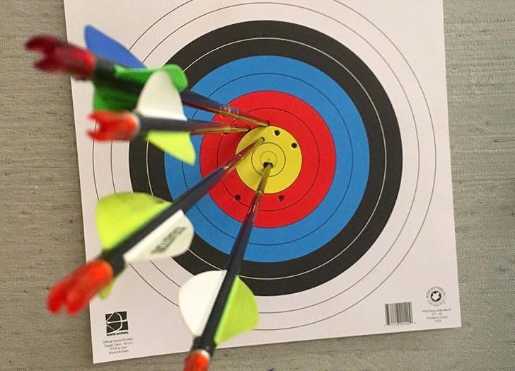 gotham archery target 728