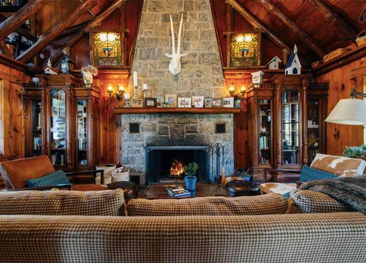 greenwood lake log cabin