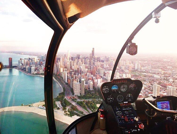 helicopter tour chicago experience gifts
