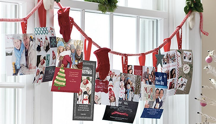 holiday decor cards