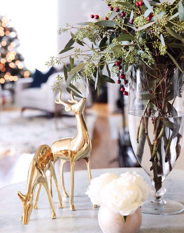 holiday decor deer