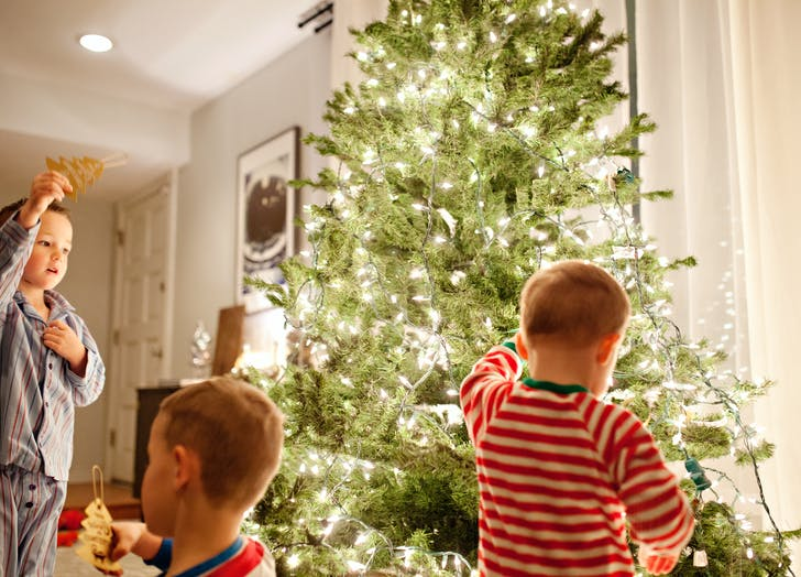 holiday decor tree christmas kids