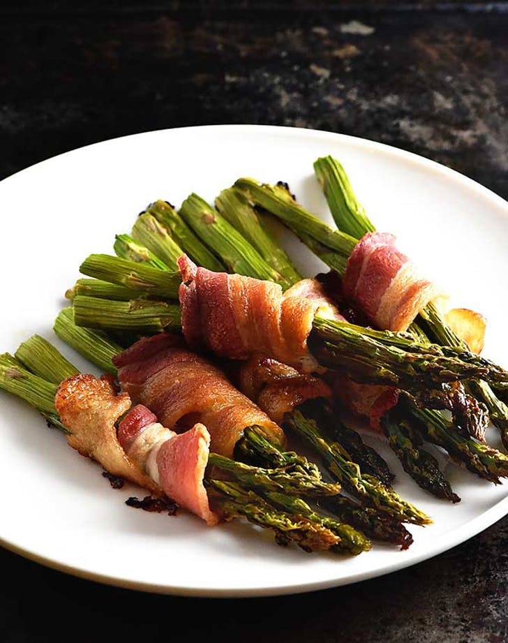 holiday side dishes baconasparagus