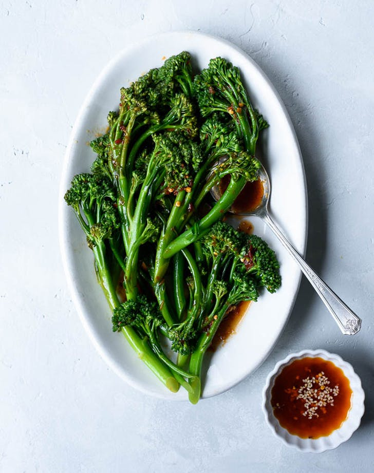 holiday sides broccolini