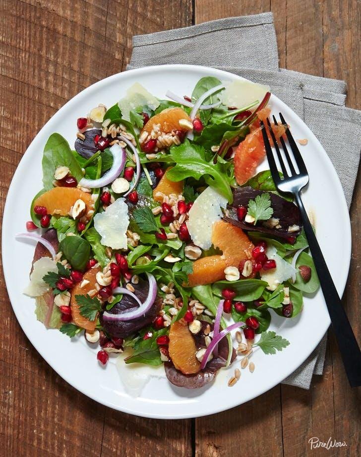 january recipes salad