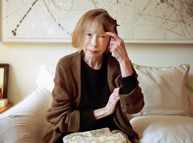 joan didion books slide