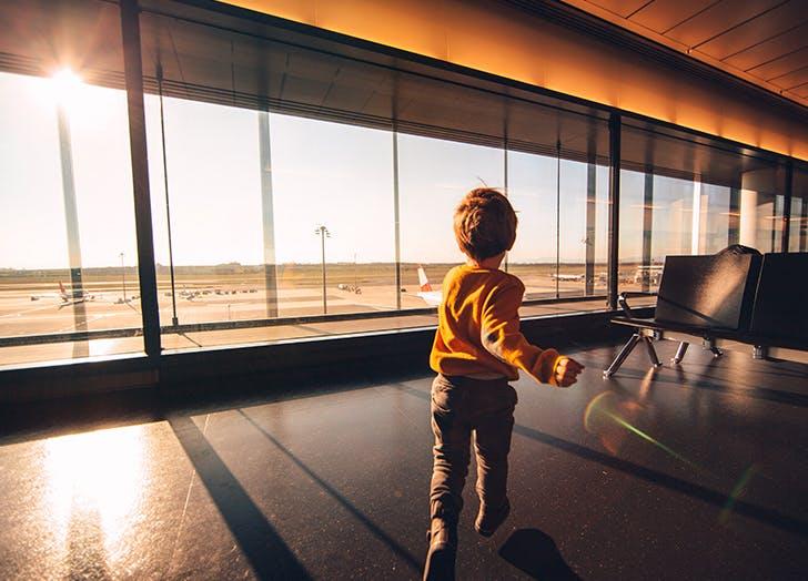 kid travel terminal