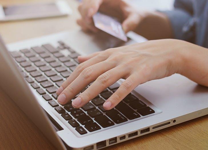 money resolutions credit card laptop