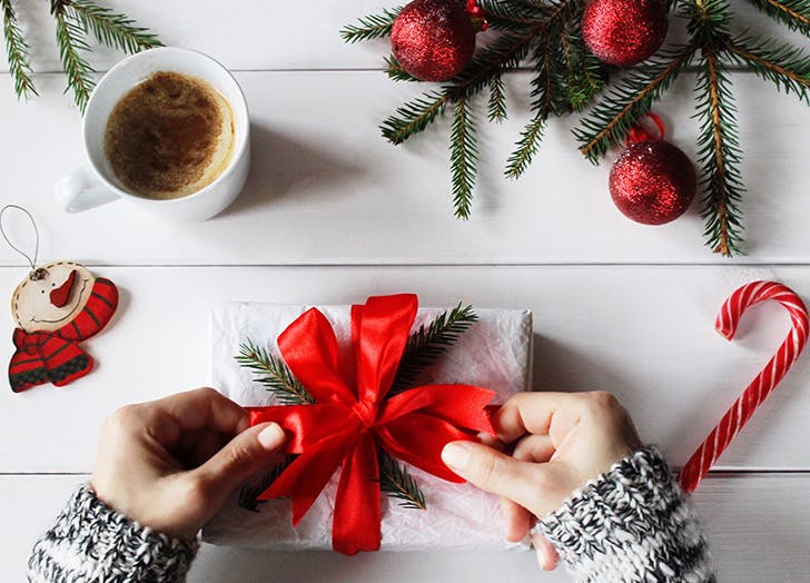 money resolutions giftwrapping