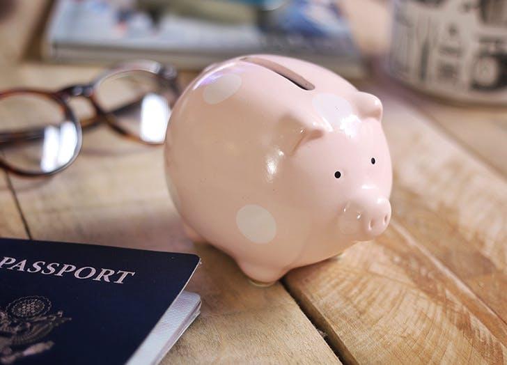 money resolutions piggy bank