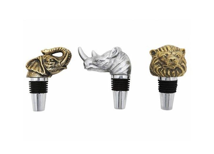 nate berkus animal wine stoppers