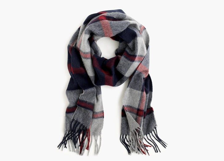 nate berkus jcrew plaid scarf