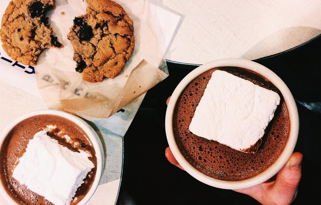 ny winter activites city bakery hot coco
