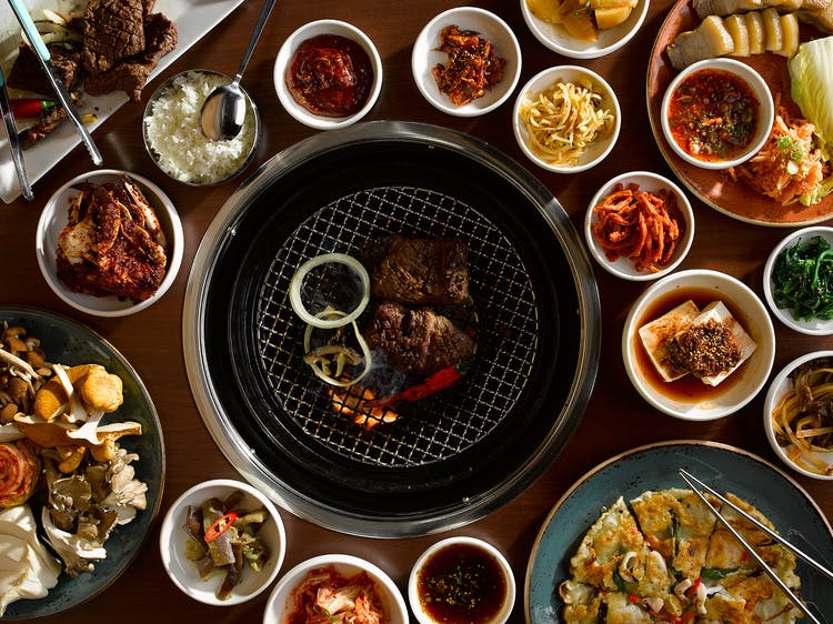 ny winter activites korean bbq