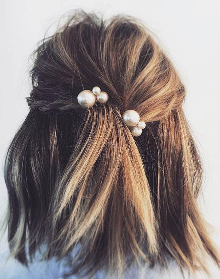 pearl hair combs 728