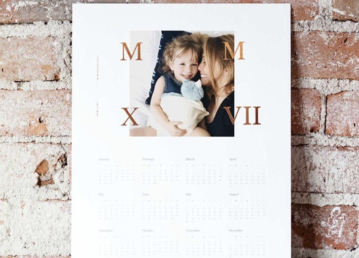 photo gifts calendar