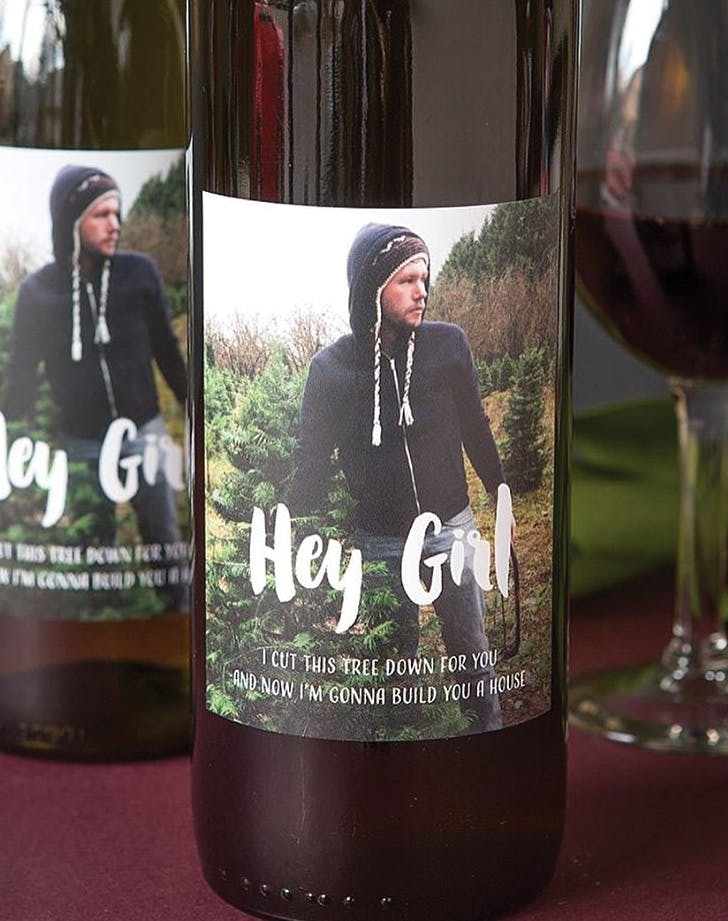 photo gifts wine labels