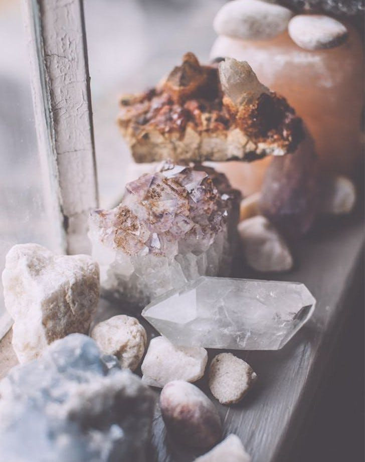 pinterest trends 2017 crystals