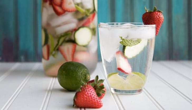 pinterest trends 2017 detox water