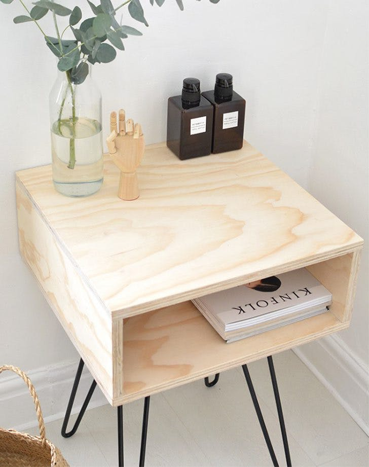 pinterest trends 2017 diy nightstands
