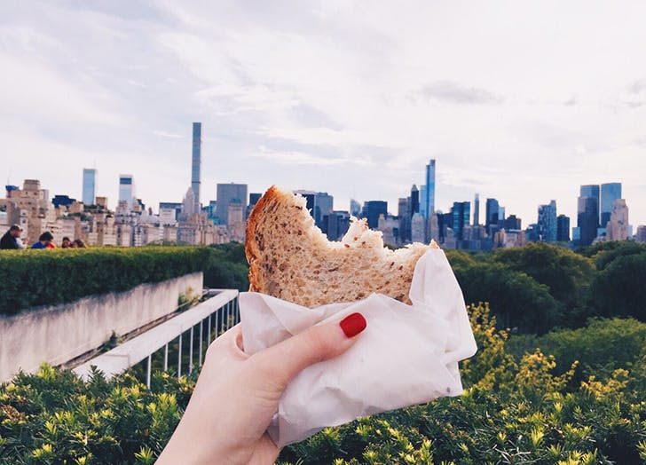 puffy eye foods bread