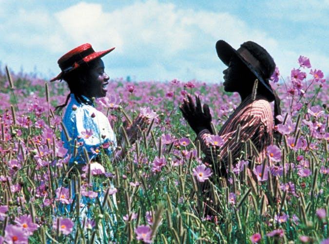 sad movies color purple