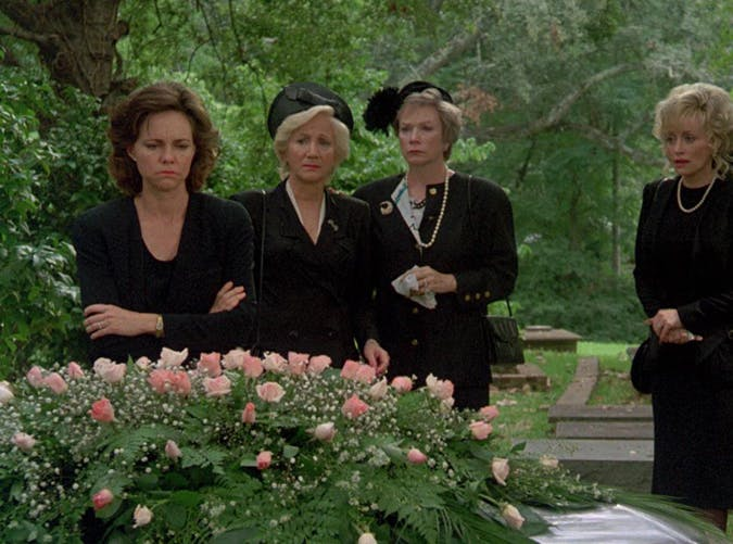 sad movies steel magnolias