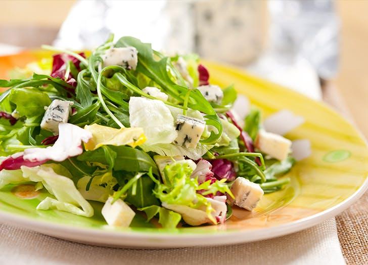 salad restaurant order