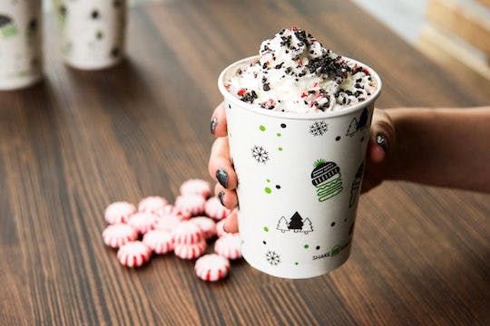 shake shack chocolate peppermint shake