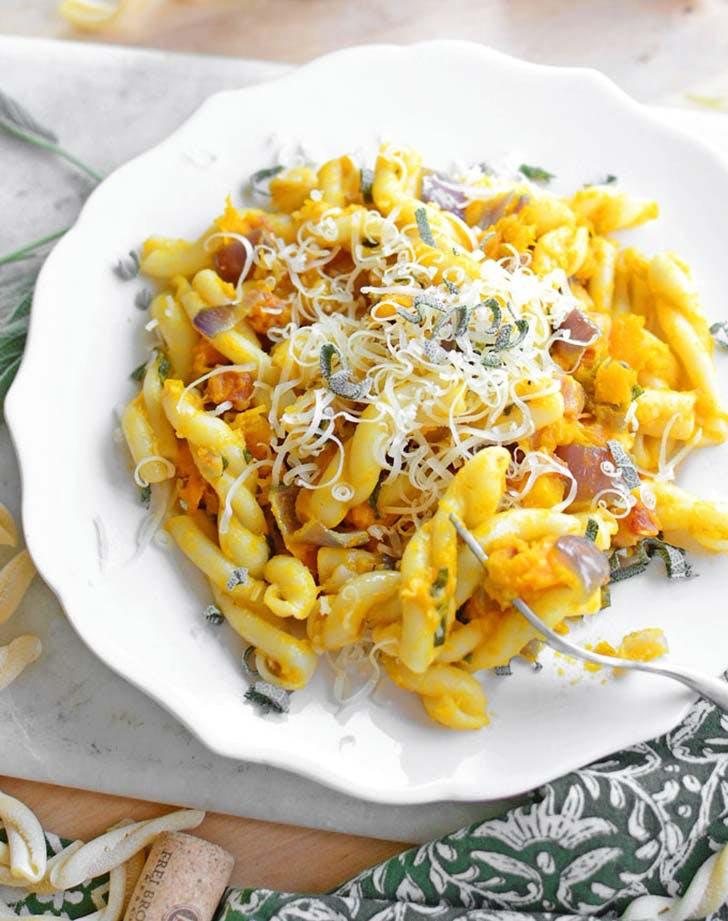 squash twist pasta