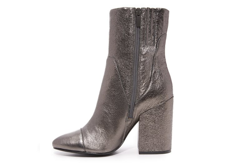 statement boots pewter